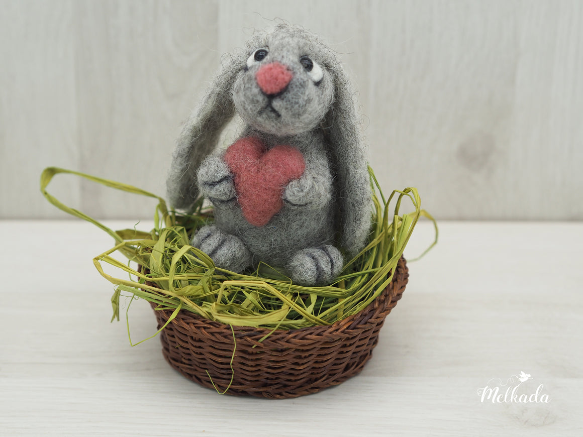 Eater bunny, Gift for bunny lovers,  Lovers gift, Nursery decoration