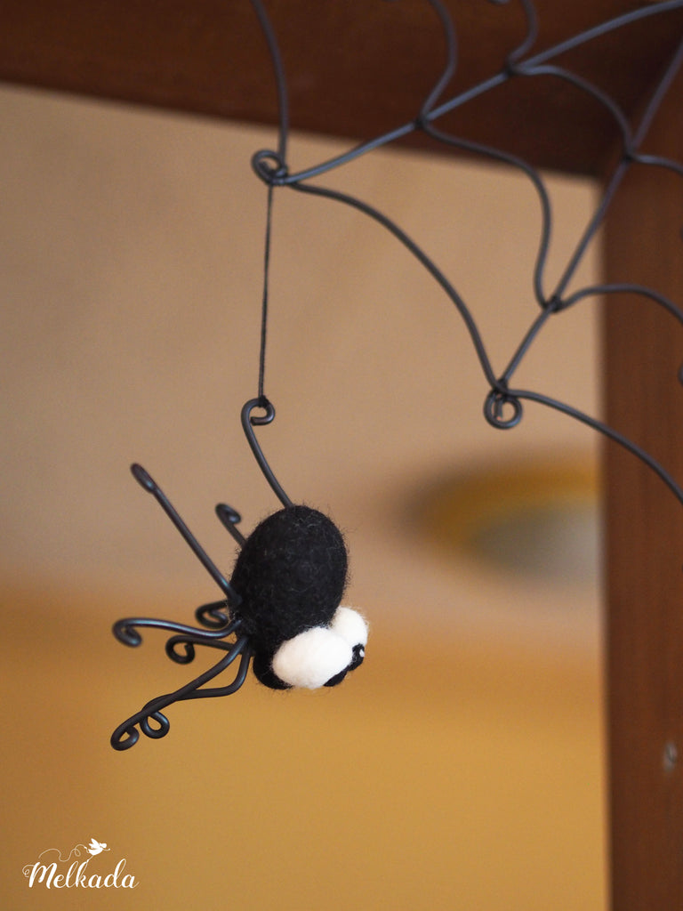 Cute spider decoration for Halloween