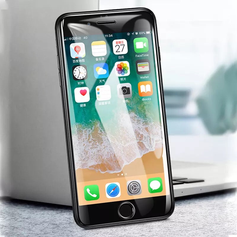 6D Tempered Glass Full Coverage Screen Protector for iPhone & Samsung