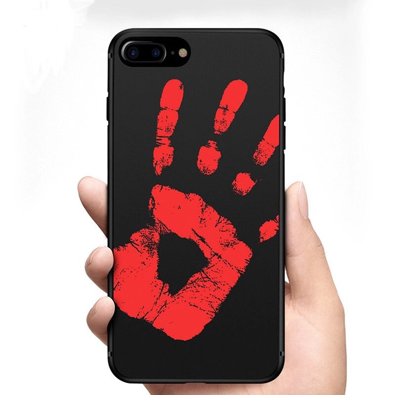THERMAL SENSOR PHONE CASE FOR IPHONE!