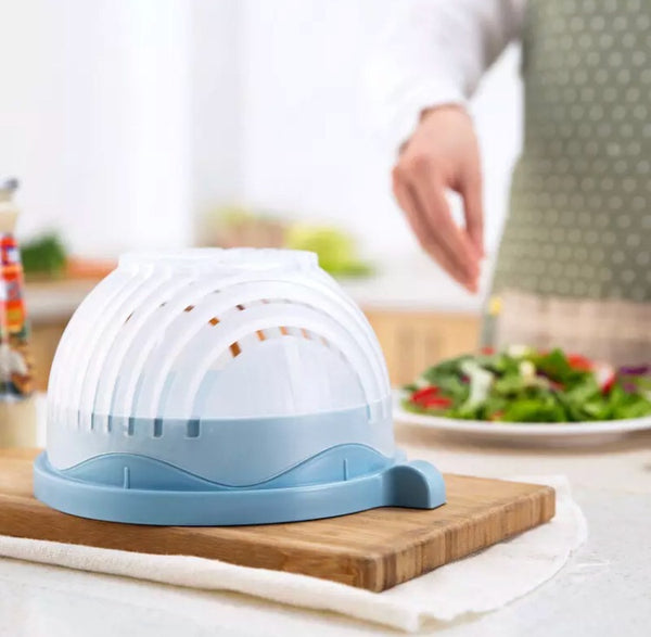The 60 second Salad Bowl Slicer