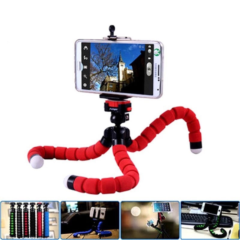 """BENDY"" The Flexible Tripod for Phones, Cameras, and Tablets"