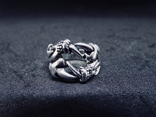 Titanium Steel Wolf Claw Ring