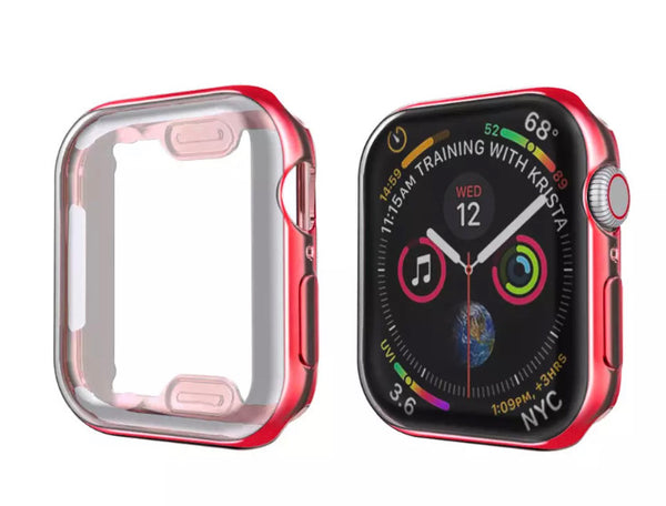 Protective silicone colorful cases for Apple Watch 5/4/3/2/1