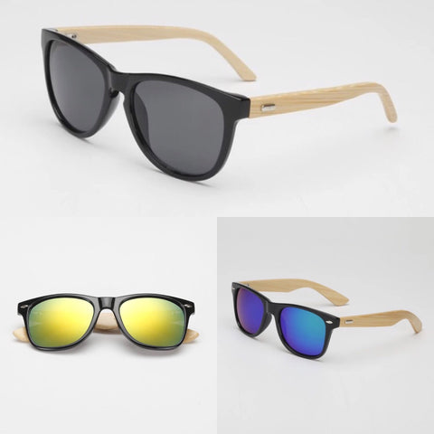 NATURAL WOODEN SUNGLASSES