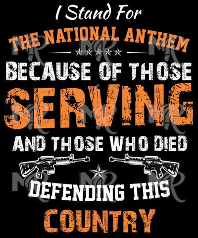 The National Anthem 1 Design