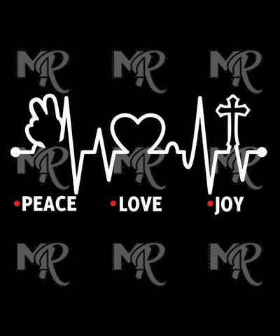 Peace, Love, Joy 1 Design