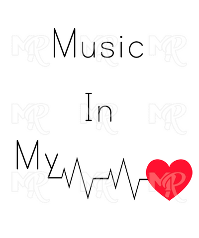 Music In My Heart 1 Design