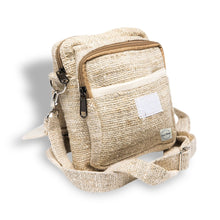 CORE HEMP Originals Casual Festival Cross Body Bag Handmade From 100% HEMP