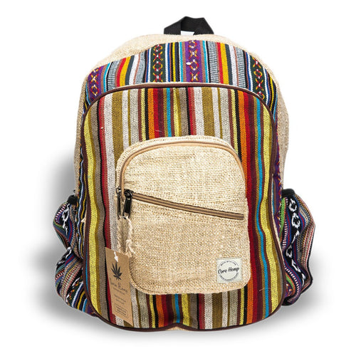 Core Hemp Unisex Color Backpack