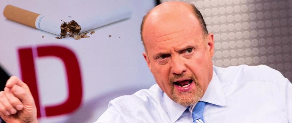 Jim Cramer: Vaping Is Decimating The Cigarette Industry