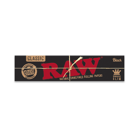 RAW Classic Black Rolling Papers