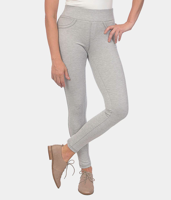 Anna Mid Rise Ponte Pant