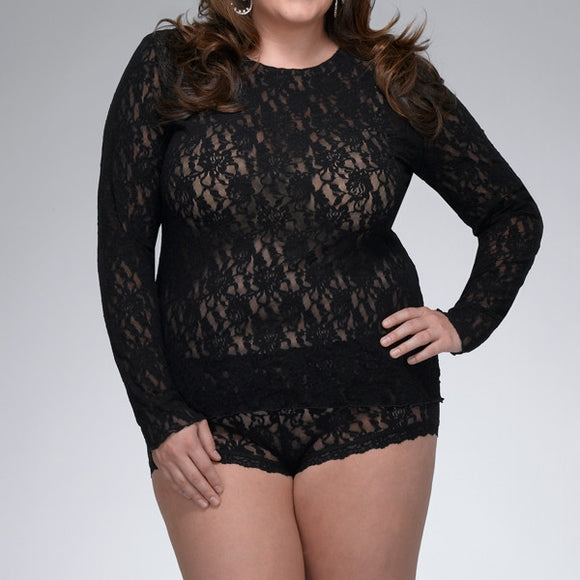 Unlined Long Sleeve Top