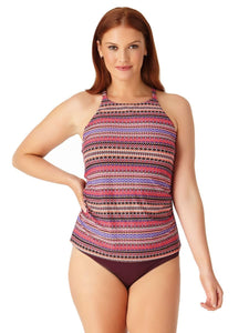 High Neck Tankini