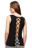 Free Spirit Tank Top with Back Crisscross