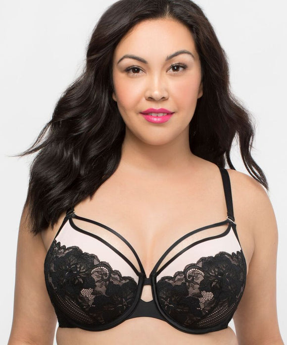 Tulip Strappy Lace Push Up