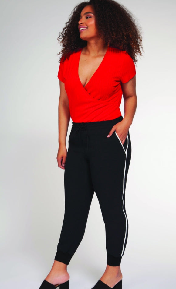 Jogger Pant with Piping
