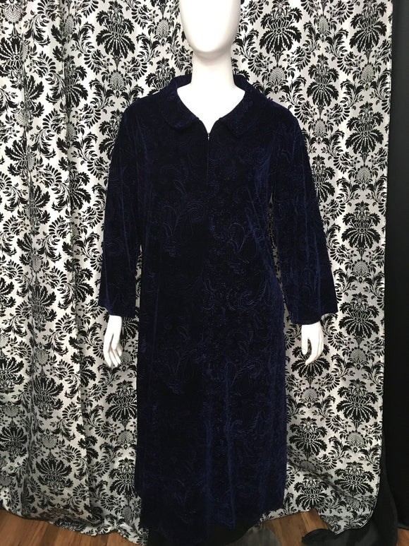 Velour Gown