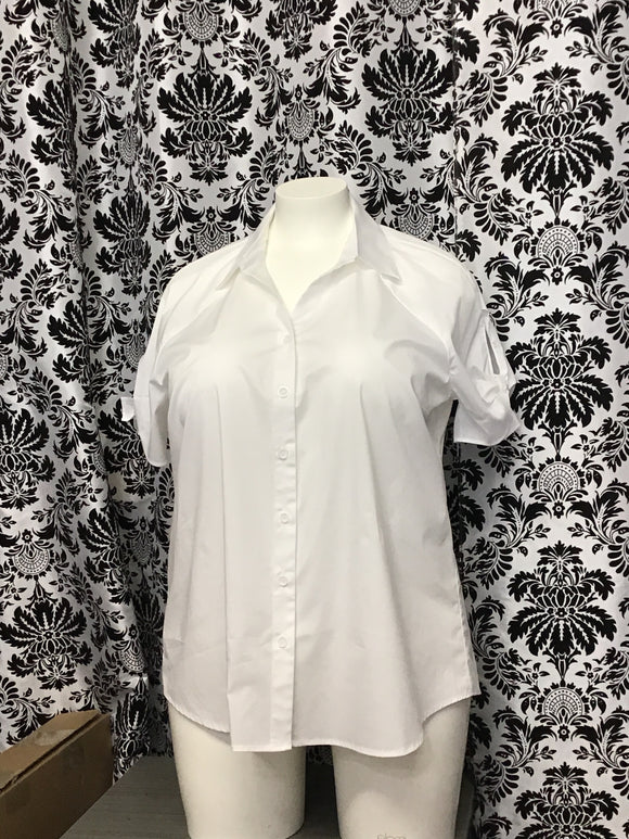 White Cotton Blouse