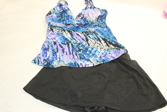 Miraclesuit skirted tankini set