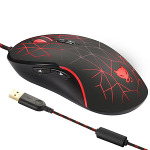 Redimp GM200 DPI 4000 Wired Gaming Mouse