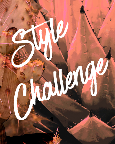 STYLE CHALLENGE  |  NOT AVAILABLE AT THIS TIME