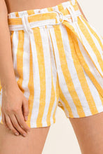 MARIGOLD PAPERBAG SHORTS | linen & pocketed