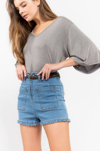GEORGIA | high waisted short