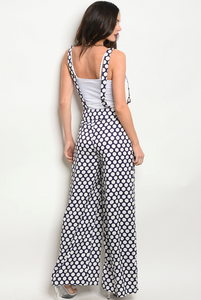 POLKA DOT OVERALL | Pants