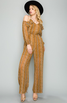 COLD SHOULDER | jumpsuit