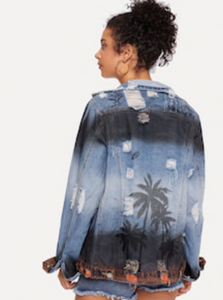 CITY OF PALMS | denim jacket