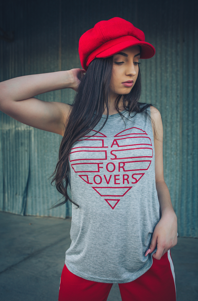 LA IS FOR LOVERS | flowy tank