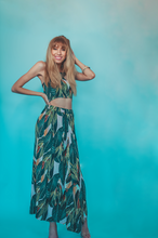PALM SPRINGS ON REWIND | halter & skirt set