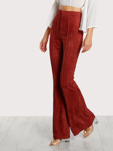 FLARE SUEDE | pants