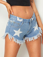 STAR POWER | denim shorts