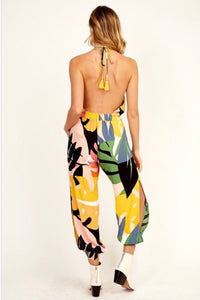 TROPICAL ALADDIN | backless jumper