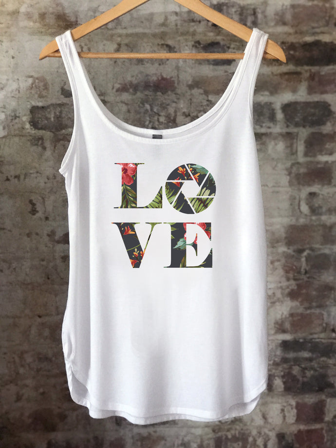 Aperture LOVE - Dark Tropical - Women's Tank