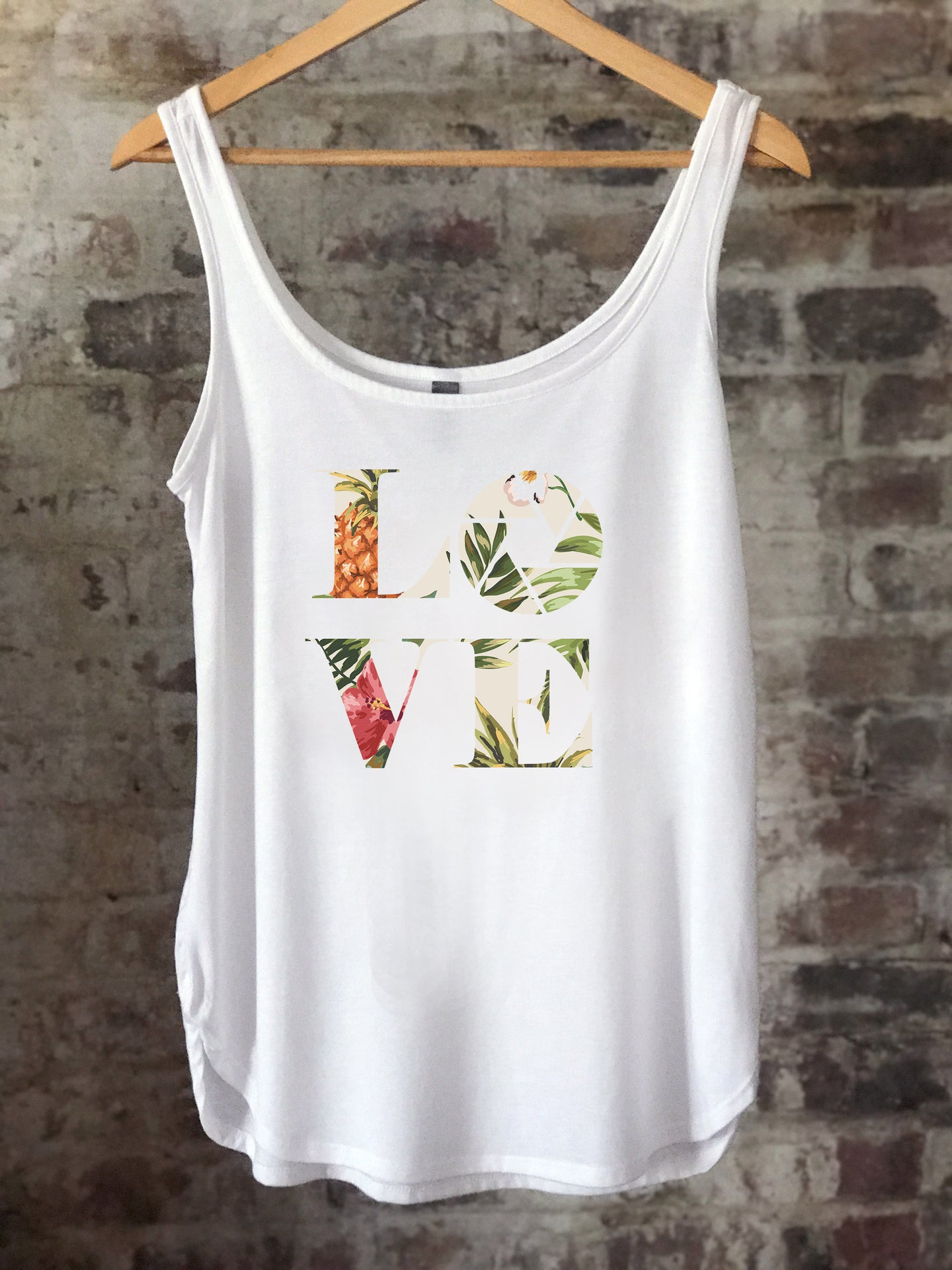 Aperture LOVE - Light Tropical - Women's Tank