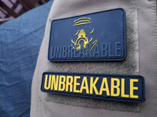 "Augusto ""Tito"" Piñeiro Unbreakable 3D PVC Patches w Velcro back Set of 2 Black / Yellow"