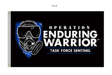 Task Force Sentinel Large Flag 3' x 5' Digitally Printed Single Reverse Knitted Polyester