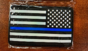 Police Flag Patch - Velcro