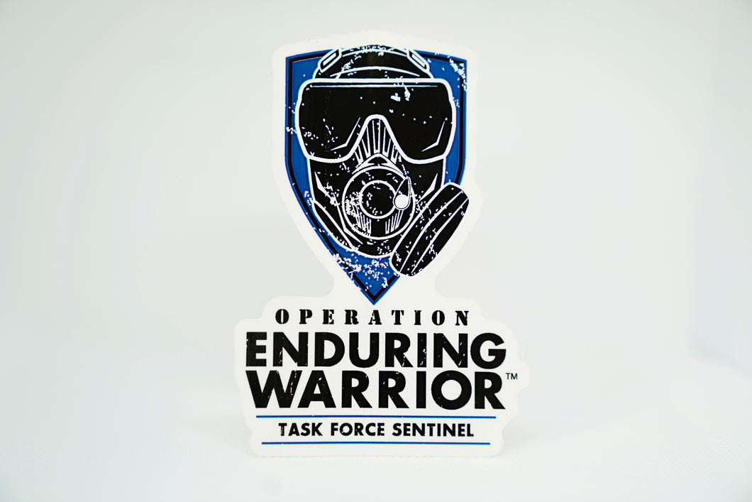 OEW Task Force Sentinel-Indoor/Outdoor Vinyl Decal