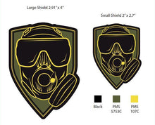 Patch: OEW Mask, Olive, 2 Size options