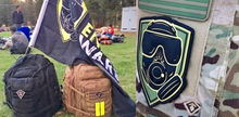 OEW Mask Shield, Olive 3D Patch w Velcro back Available in Small and Large