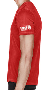 Heroes Flag - Enduring Their Sacrifice T-Shirt in Red