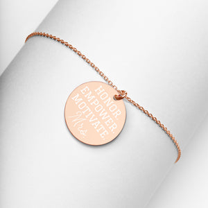 OEW Spouse Engraved Necklace