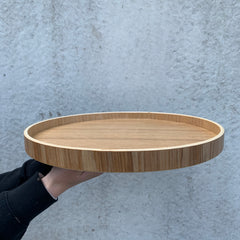 NED Willow Circular Tray
