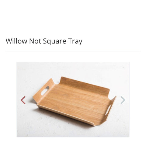 "Ned Willow ""Not Square"" Tray"