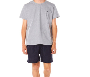 Cotton T-shirt Grey - Front